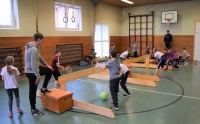 Low-T-Ball-Turnier in der Glaner Grundschule